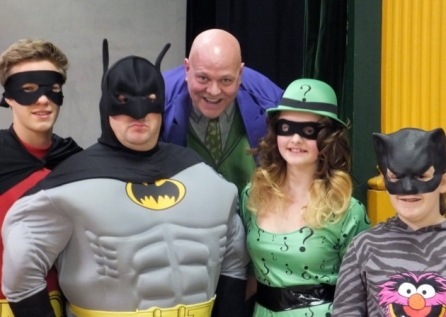 Batman pantomime